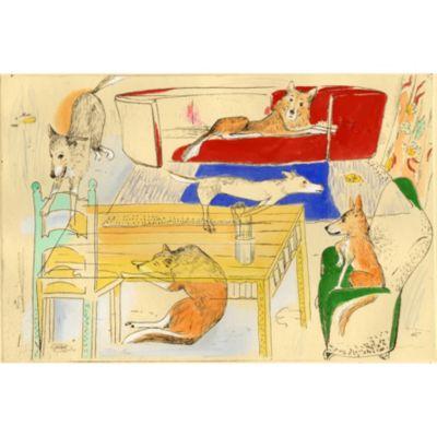 <集英社> 『Lucas−atelier』銅版画 手彩色画像