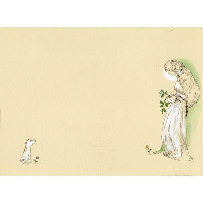 <集英社> 『薔薇園』銅版画 手彩色画像