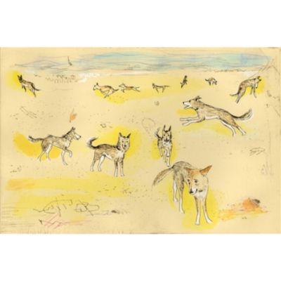 <集英社> 『Lucas−sea』銅版画 手彩色画像