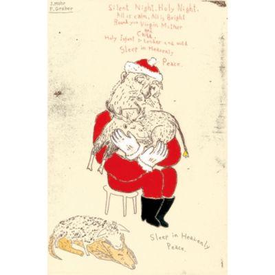 <集英社> 『Merry Christmas』銅版画 手彩色画像