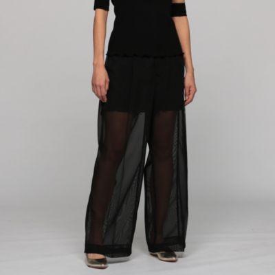 Polyester mesh pants