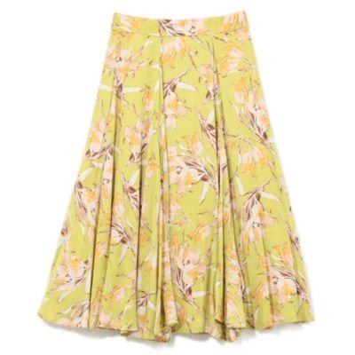 ミモレフレアープリントスカート
