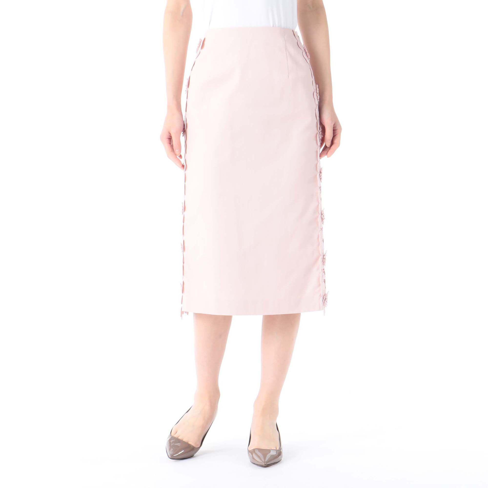 PARIGOTパリゴ/サイドレースタイトスカート