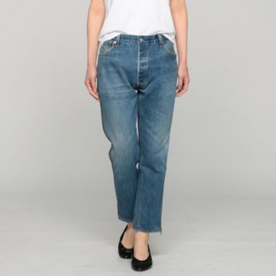 HIGH RISE ANKLE CROP SIDE ZIP (LEVI'S)
