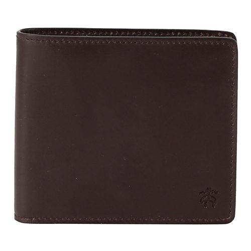 BROOKS BROTHERS/カーフレザー ID コインウォレット with BB#1ストライプ /¥29,000円+税