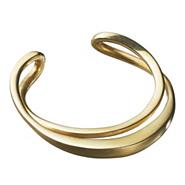 ゴールドプレイテッドバングル(K24)