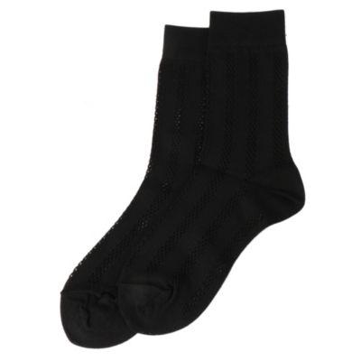 Mesh Stripe Socks