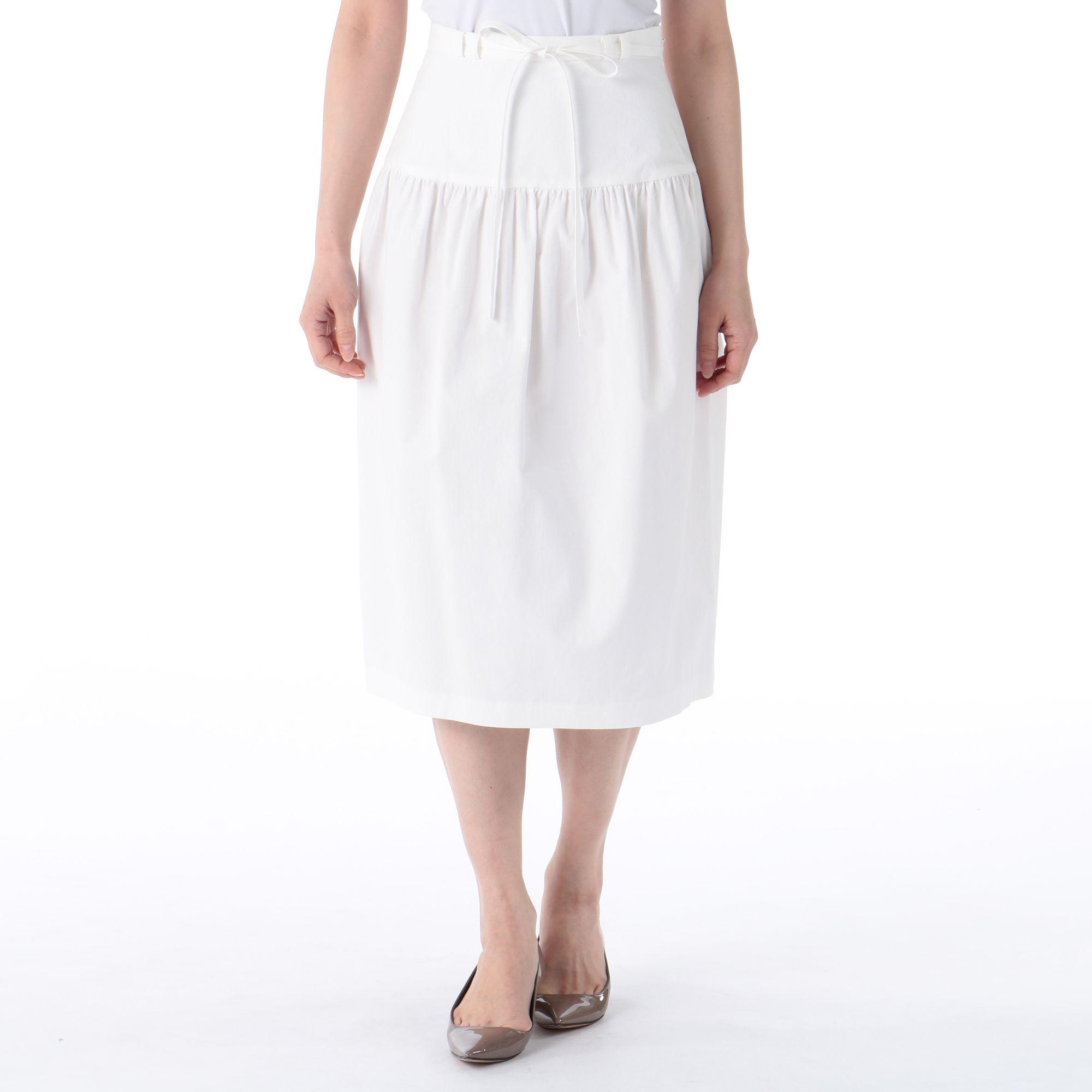 ELIN(エリン)/コットンギャザーコクーンスカート