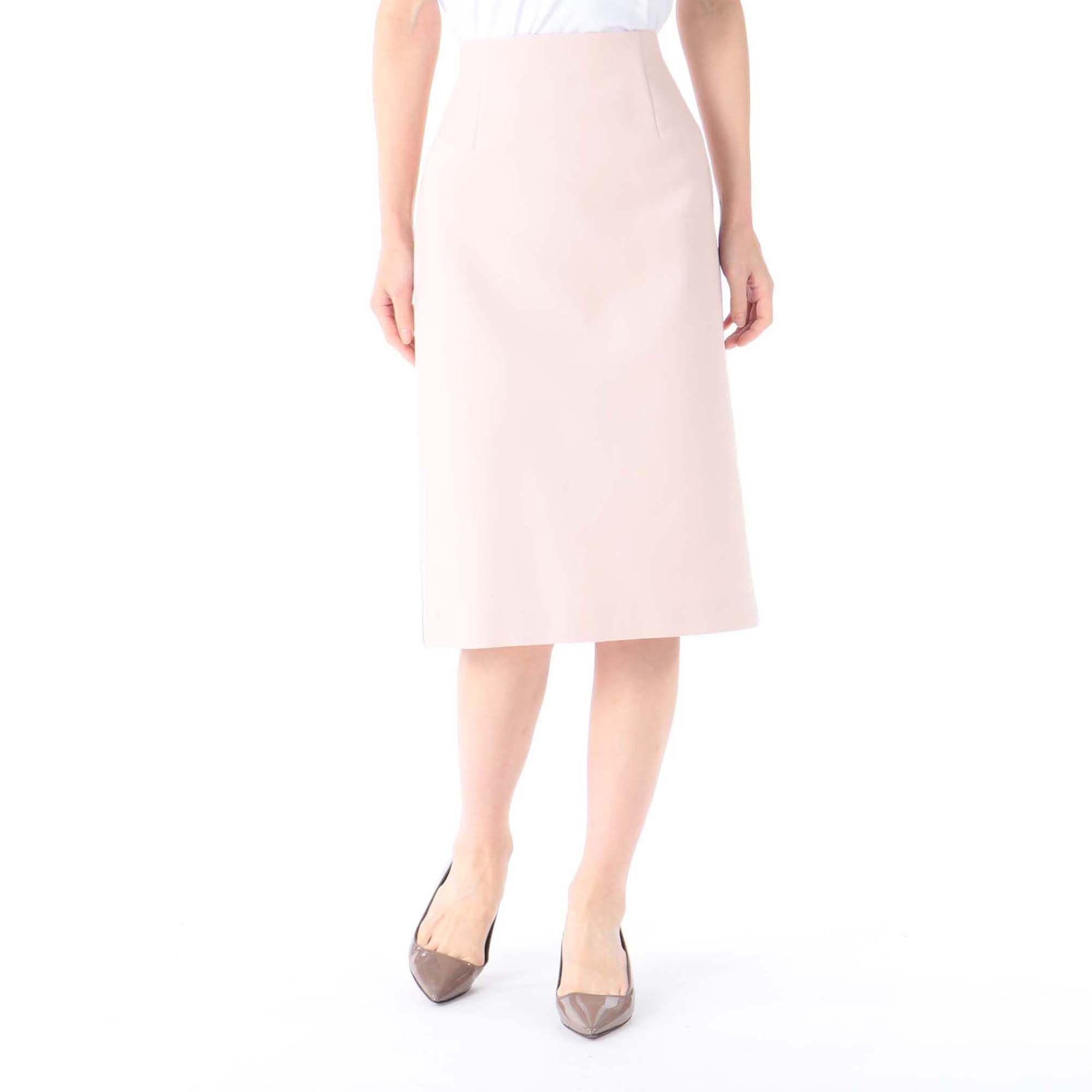 martiniqueマルティニーク/ダブルクロスサイドラインタイトスカート