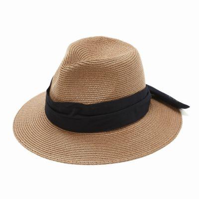 ブレードつば広中折れ帽