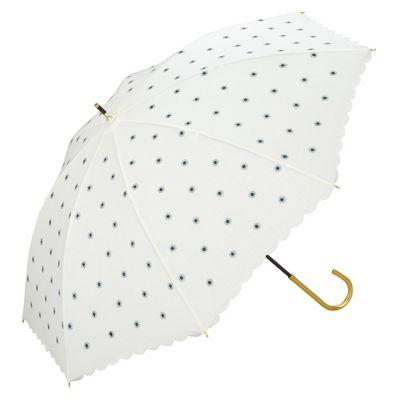 日傘 プチデイジー刺繍
