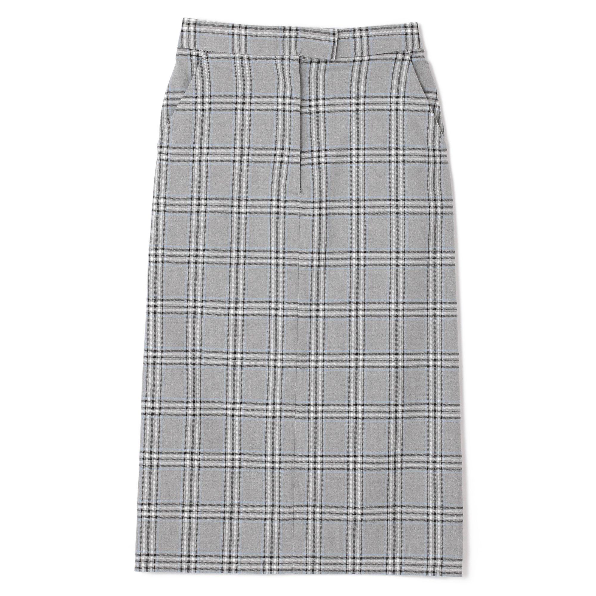 Mila Owenミラ オーウェン/チェックタイトスカート