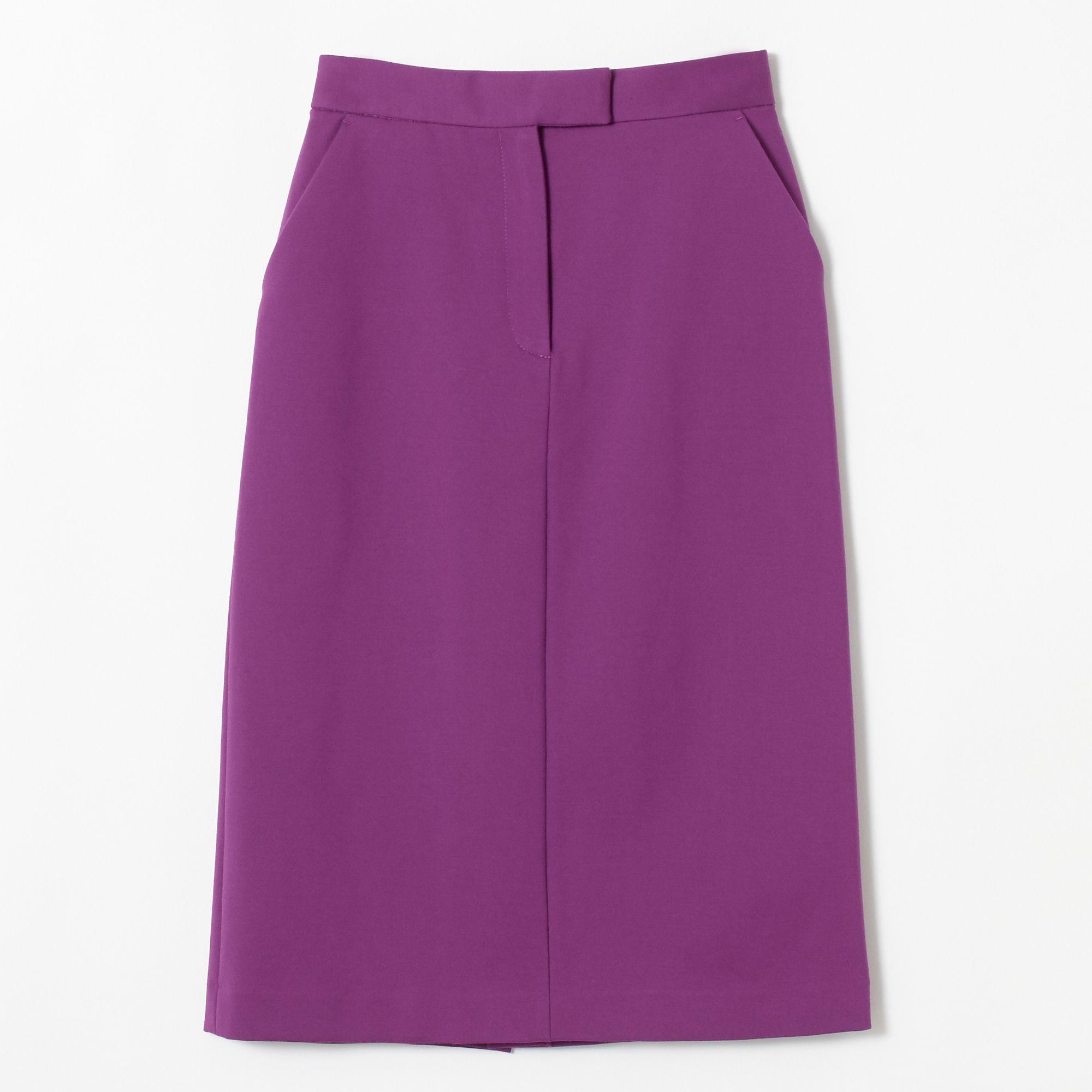 Mila Owenミラ オーウェン/バックフラップストレートスカート