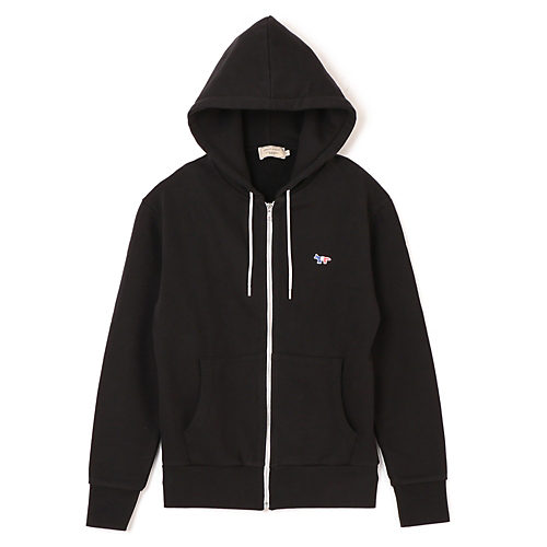 MAISON KITSUNE/PAR REC ZIP HOODIE TRICOLOR FOX PATCH/¥26,000+税