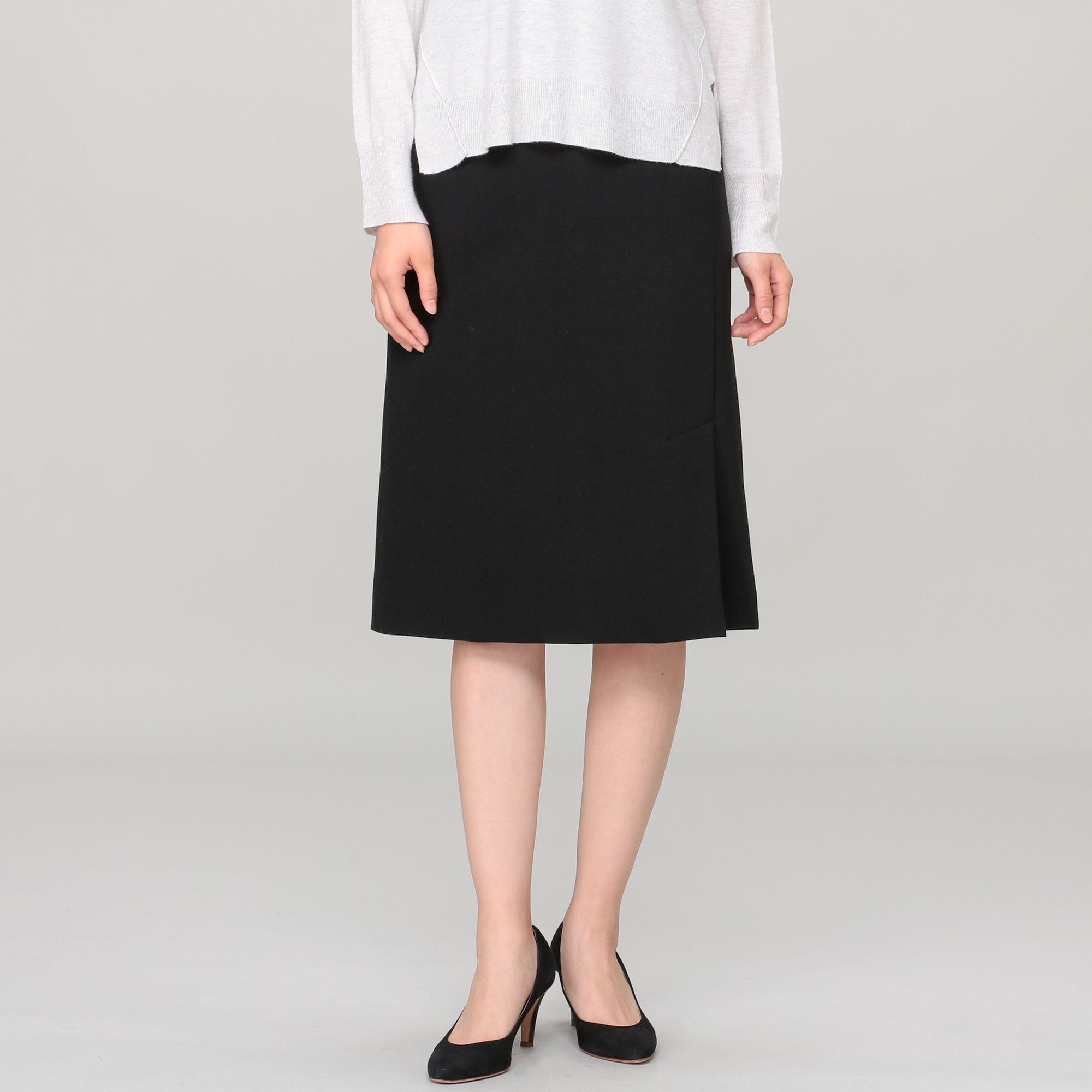 M・filエムフィル/ポンチタイトスカート