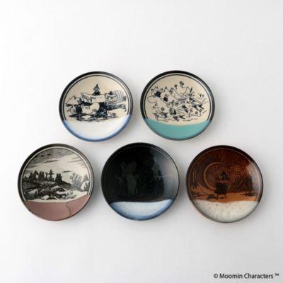 <集英社>【MOOMIN×amabro】MASHIKO POTTERY−GLAZE− 益子焼5枚組画像