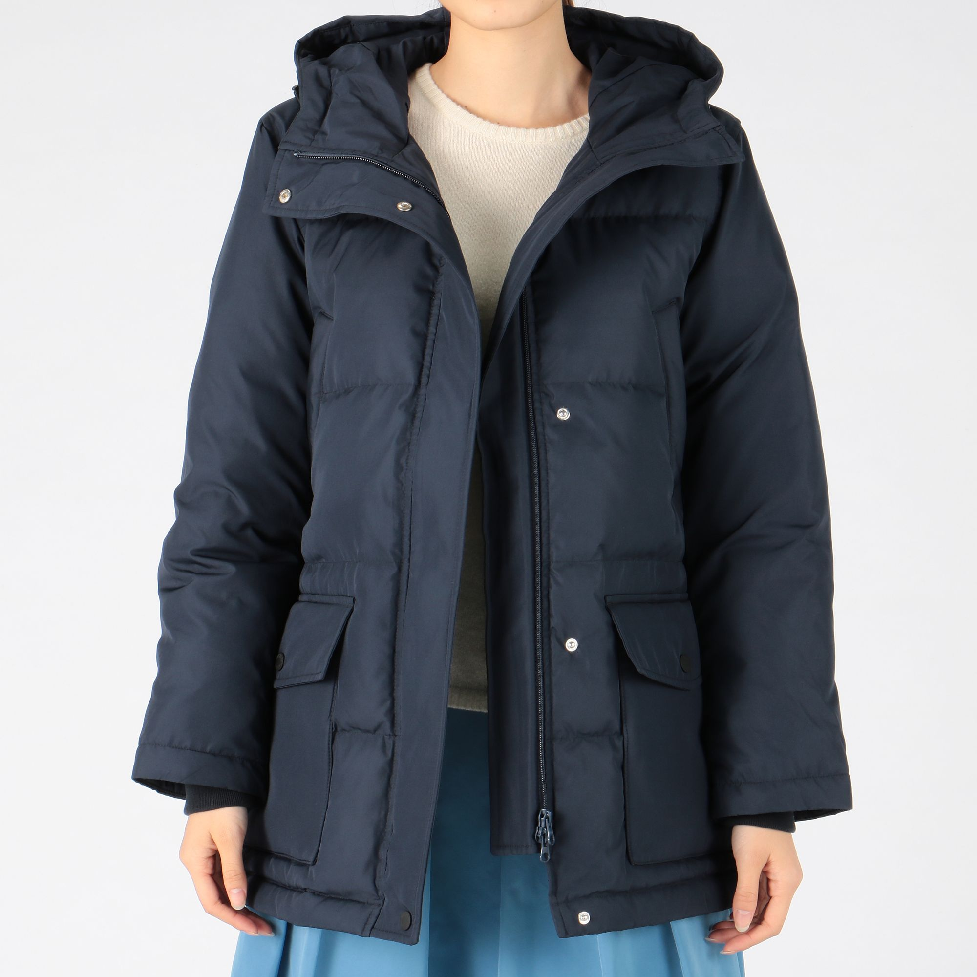 MELROSE CLAIRE(メルローズ クレール)/Dickies×CLAIREコラボダウンコート