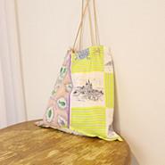 50代ファッション PRINTE LARGE TOTE パネルスカーフトートバッグ,manipuri