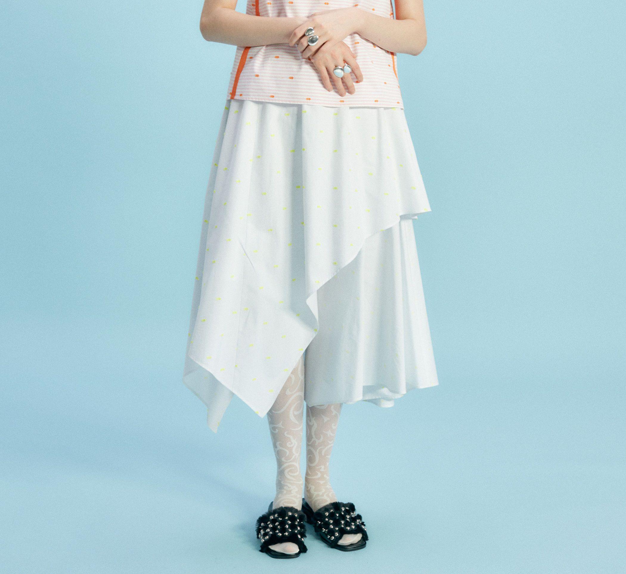TARO HORIUCHI(タロウ ホリウチ)/フレアレイヤードスカート