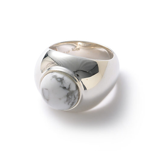 silver/howlite