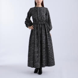 ウールマキシドレス