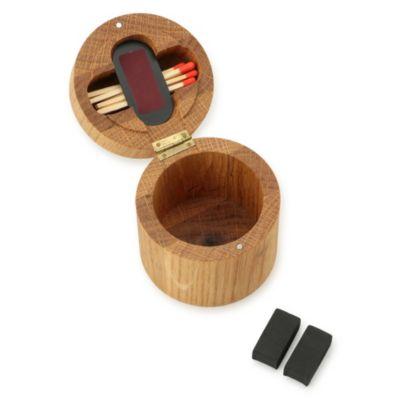VOYAGE SCENT CASE (WOODEN BOX / MATCH STICKS / STRIKER)