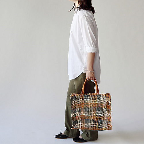 Recreational Vehicle 【Horn Please STYLE】アバカバッグ ボニーチェック