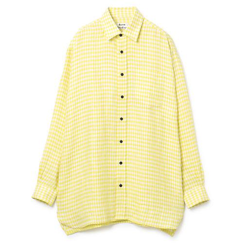 Sharp yellow/white