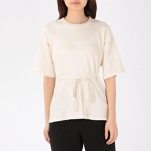 Fleece Rib/Off White