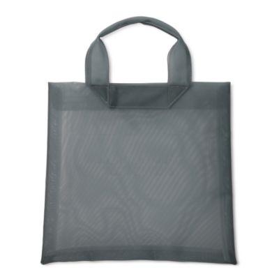 logo emboss tulletote bag