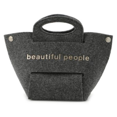 recycled feltconstructive bag S