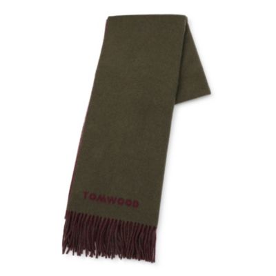 Wood Scarf Two Face Forrest