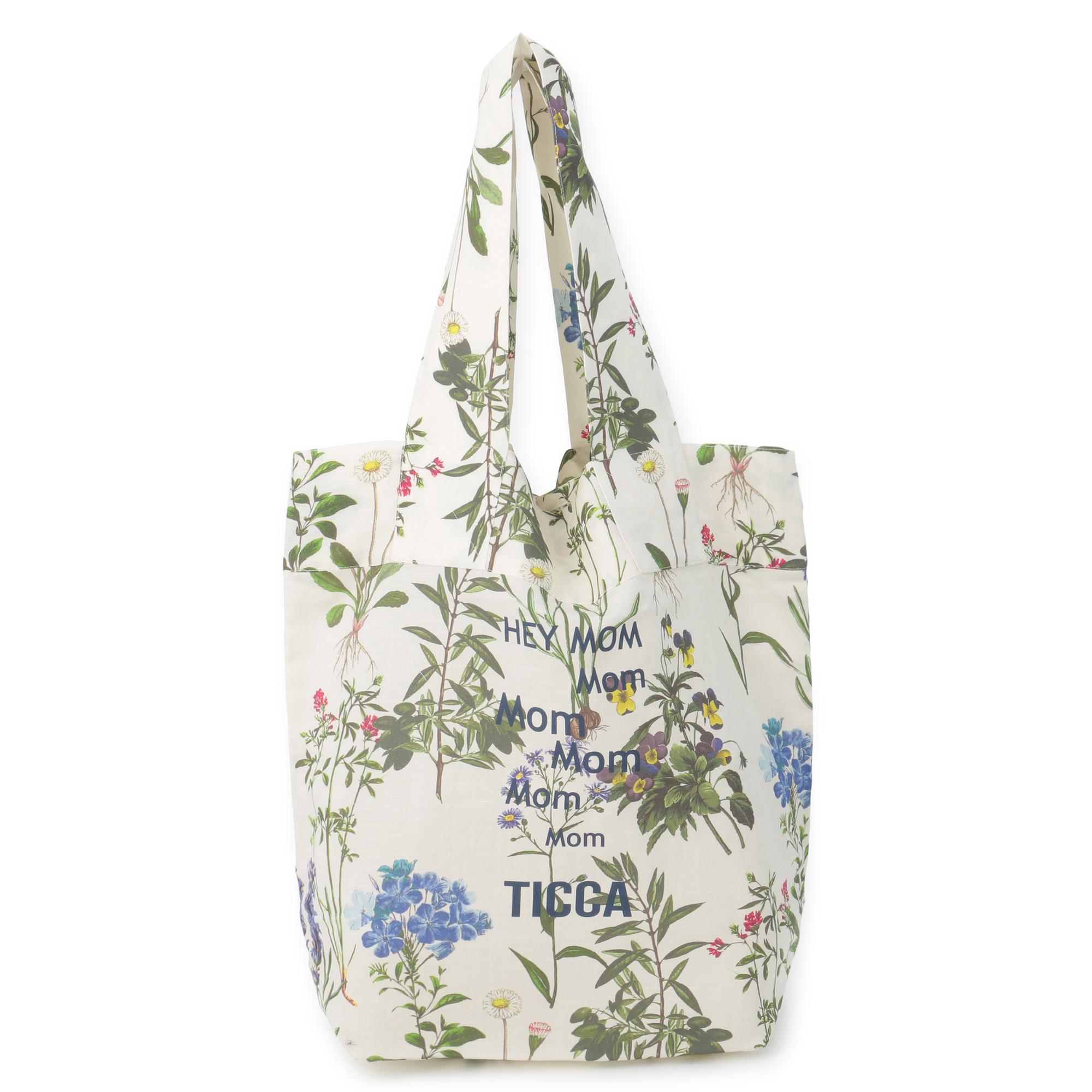 TICCA/フラワープリントバッグ/¥13,200