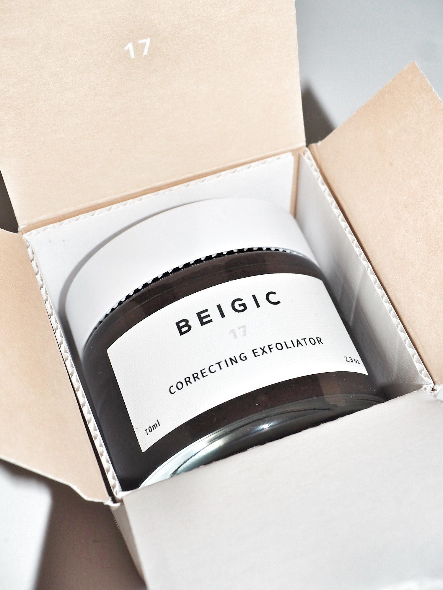 「BEIGIC」のコレクティングエクスフォリエーター