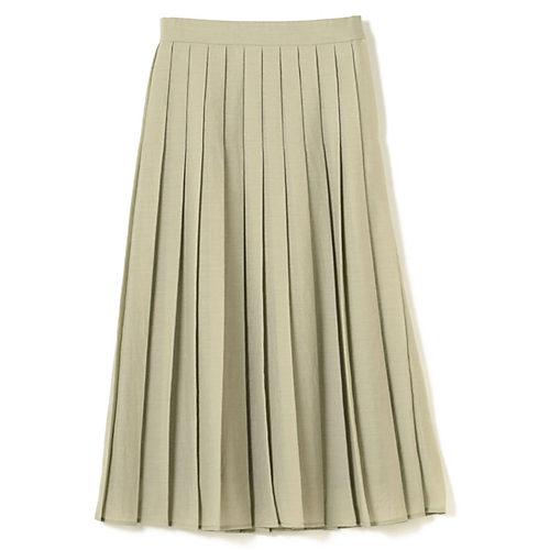 透け感のあるシアー素材で上品さをプラスしたプリーツスカート シアータックプリーツスカート