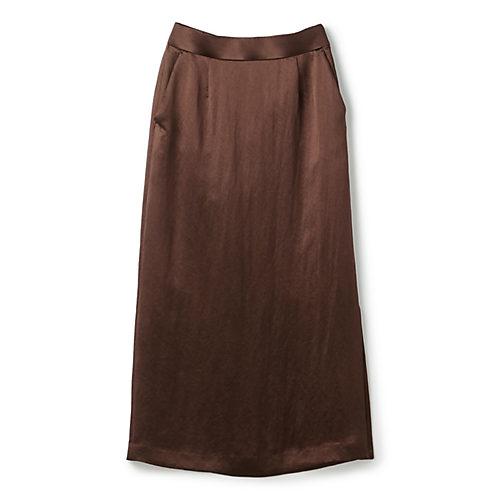N.O.R.C (ノーク) アセテートサテンナロースカート