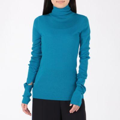 Soft Wool Rib スリットリブタートル