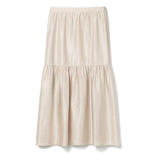 M7days(エムセブンデイズ)艶ティアードスカート