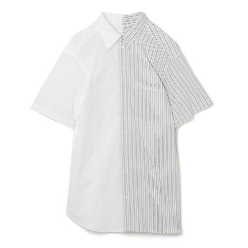 White - White Yellow Stripe