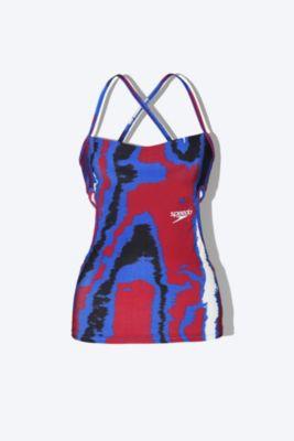 Swim tank top SPEEDO SP print