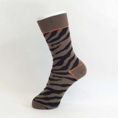 Zebra Cut Boss Socks