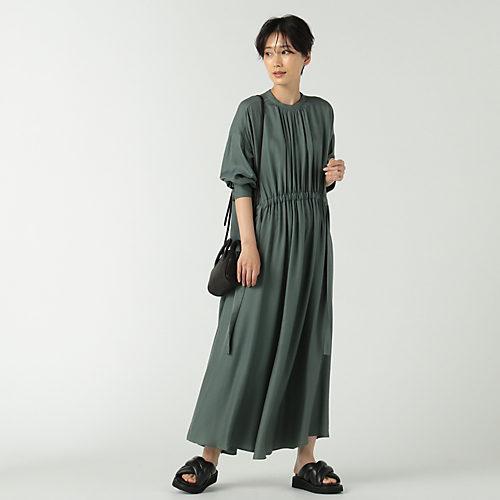 SACRA/シャツワンピース/TRIACE VINTAGE TWILL/¥38,500