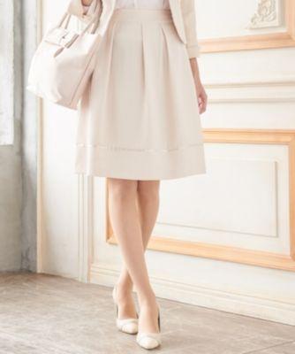 【洗える】エレガンスタック スカート