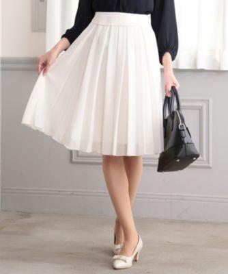 【セレモニー】シフォンプリーツ スカート