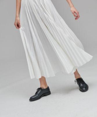 【Domani4月号掲載】SUVIN 35/- プリーツスカート