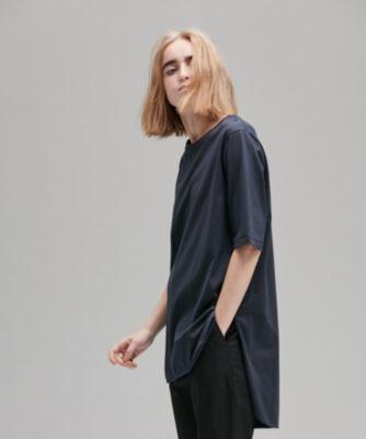 SUVIN 60/2 ラウンドヘム Tシャツ