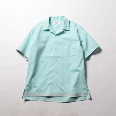 100/2 ブロードオープンカラーシャツ