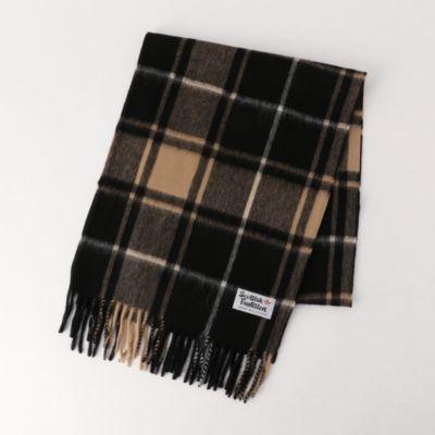 【Scottish Tradition/スコティッシュ トラディション】 チェックマフラー