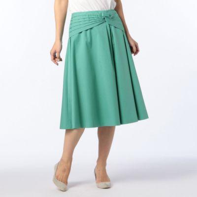 ねじりデザインスカート