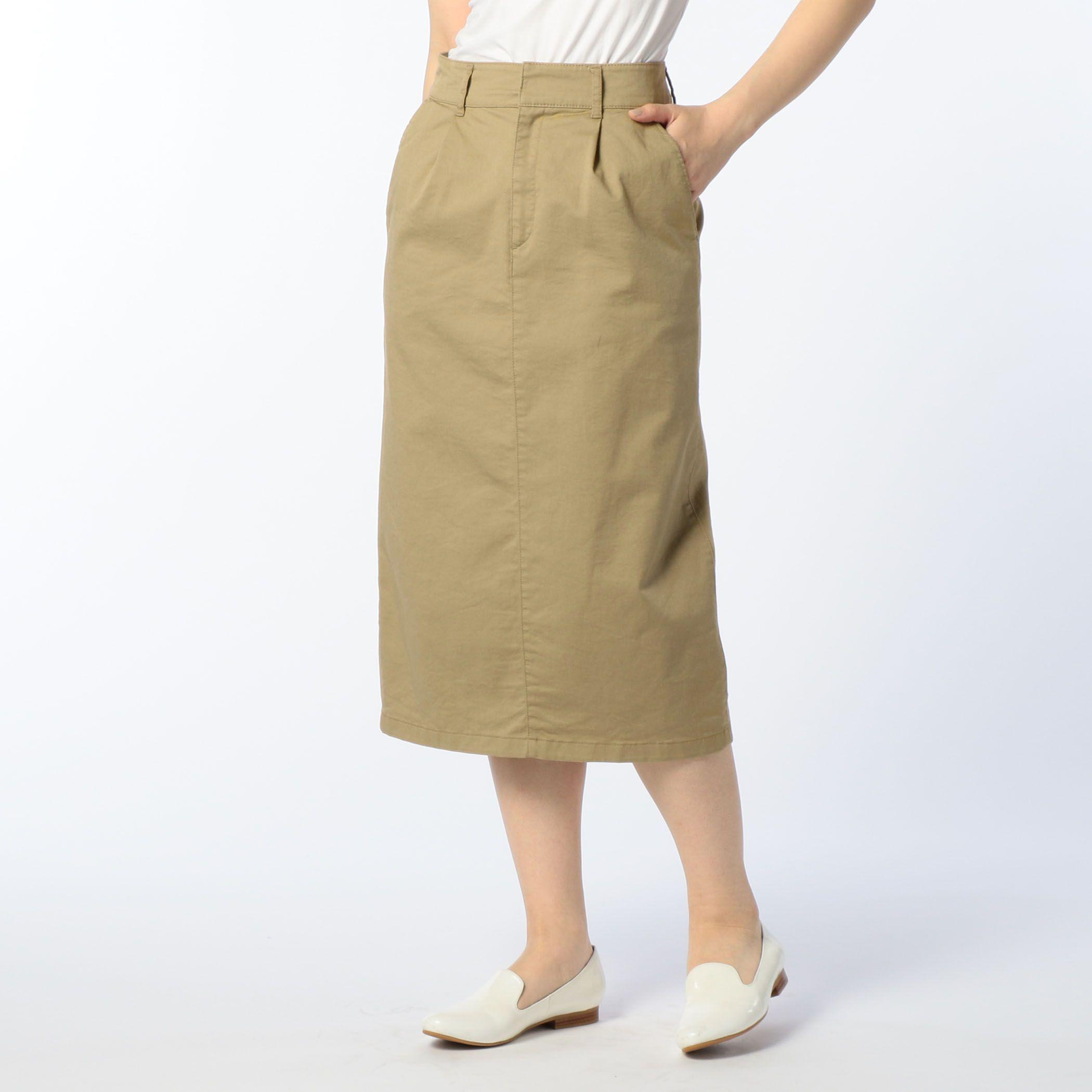 NOLLEY'Sノーリーズ/チノストレッチタイトスカート